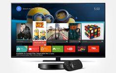 Google Nexus Player convierte tu TV en una AndroidTV http://okandroid.net