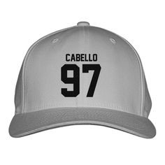 d3545f93875 CABELLO Embroidered Baseball Cap 2pac