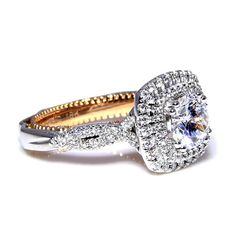 Verragio Engagement Ring-AFN-5066CU | Andrews Jewelers, Buffalo NY