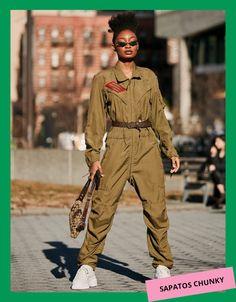 New York Fashion, Star Fashion, Fashion Trends, Fall Fashion, Gothic Fashion, Curvy Fashion, Womens Fashion, Botas Western, Estilo Hip Hop