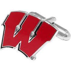 Cufflinks Inc. Wisconsin Badgers Cufflinks