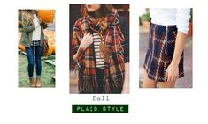 Fall Plaid Style Plaid: Fall's favorite pattern. You can wear it many ways, with many layers, and in many color combinations! Sometimes, with all those options, it can get a little overwhelming. To simplify styling plaid this Fall, I'll give you my 3 favorite ways to wear it.   Layered: One plaid shirt can be...  Read More at https://www.chelseacrockett.com/wp/style/fall-plaid-style/.  Tags: #FallFashion, #FallPlaidStyle, #FallStyle, #Layering, #Plaid, #Style, #Style