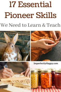 The 17 most essential pioneer skills you need to learn and teach. Pioneer skills, vintage skills, forgotten skills… there are many names given to these essential skills. The fact is that living in a modern society many of these abilities have been dismissed as unnecessary, old fashioned or outdated. Herbal Remedies, Home Remedies, Natural Remedies, Preserving Food, Chickens Backyard, We Need, Sustainable Living, Real Food Recipes, Herbalism