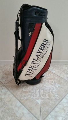 4c7ebbd65cc PGA Tour The Players Championship Leather Golf Bag for Sale in Jacksonville