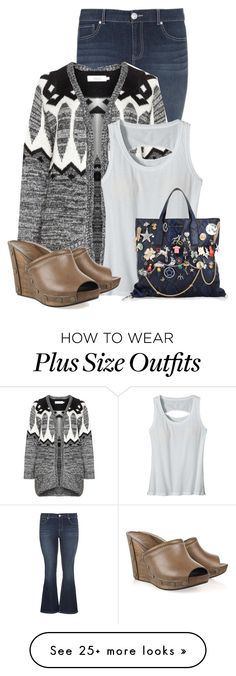 """Untitled #15779"" by nanette-253 on Polyvore featuring maurices, Zizzi, Patagonia, See by Chloé and Marc Jacobs"