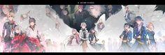 Anime - K Project Nagare Hisui Tenkei Iwafune Yukari Mishakuji Sukuna Gojo… Missing Kings, Manhwa, Return Of Kings, Project Red, Character Wallpaper, Original Wallpaper, Manga Illustration, Akira, Online Art