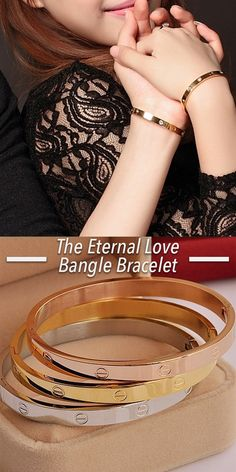 These classic bangle bracelets come in silver, gold or a rose-gold plated finish and make for a perfect gift (each comes packaged in a gift box, ready to give). Plus, at 50% off, we love getting them for everyone on our list (including ourselves!).