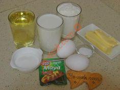 Katmerli Çörek İçin Gerekli Malzemeler Glass Of Milk, Breakfast, Food, Cases, Cooking, Morning Coffee, Essen, Meals, Yemek