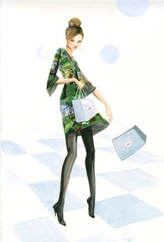 Grant Cowan is a Sydney based visual and graphic artist who specialises in fashion illustration....