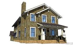 House Plan 67538 Elevation