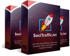 Checkout SociTrafficJet Review & Bonus  Learn more here: http://mattmartin.club/index.php/2017/06/27/socitrafficjet-review-bonus/ #Apps, #Blog, #Software Driving traffic has always been a big deal for marketers, especially in their social media marketing campaigns. And even if you have an attractive landing page with great products to sell, without traffic, they won't make any sense. Putting in mind the significance of social traffic, S...