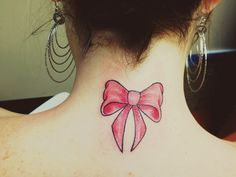 My Bow Tattoo!!!