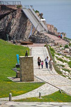 Museo de las Anclas, Salinas. Museos Asturias [Más info] http://www.desdeasturias.com/el-museo-de-las-anclas-philippe-cousteau/