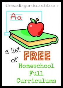 A List of FREE Full Homeschooling Programs Online!