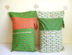 The Sleepover Pillowcase Tutorial by lemon squeezy