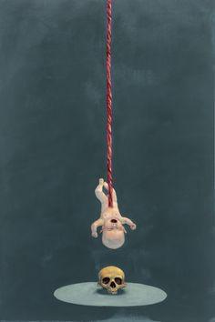 Michael Kvium. So Simple (1995).