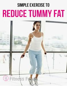 Simple Exercise to Reduce Tummy Fat. #fitness