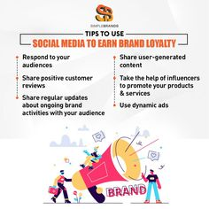 While acquiring new customers is important for a brand, nurturing existing customers is equally significant. Besides, loyal customers can help bring more new customers. Use social media to earn brand loyalty from your audience. Social Media Marketing Companies, Social Media Channels, Loyalty, Equality, The Help, Digital Marketing, Management, Positivity, Activities