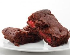 James Martins Raspberry Chocolate Brownies