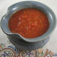 Fresh marinara sauce. Put all those ripe, fresh tomatoes to good use.  Allrecipes.com