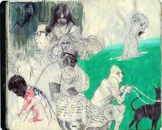 Vincent Hui sketchbook