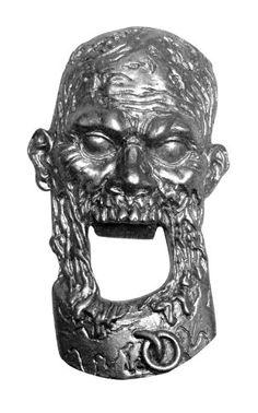The Walking Dead Zombie Metal Bottle Opener - http://geekarmory.com/the-walking-dead-zombie-metal-bottle-opener/