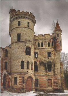 Muromtsev Manor castle estate of Count Hrapovitsky village Muromtsev Vladimir Region Russian Federation