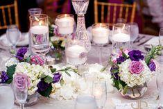 Purple Wedding Flowers Peonies Wedding Centerpieces, Purple Wedding Decorations, Purple Wedding Flowers, Wedding Flower Guide, Simple Weddings, Wedding Styles, Florists, Wedding Inspiration, Floral