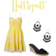 """""""Harry Potter"""" House-Inspired Fashion 