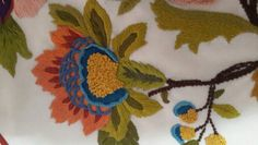 Crewel#embroidery