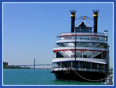The Detroit Princess and the Ambassador Bridge