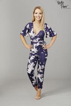 Katie Piper Oriental Floral Jumpsuit