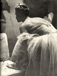 Ekaterina Maximova's debut in Giselle, 1961. With Galina Ulanova.