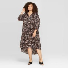 womens roll up 3//4 sleeve multi leopard print bodycon wrap over v neck dress