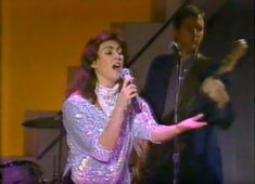 """Laura 1983, TV-show """"Star Search"""""""