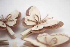 Pin de ropa con alas de mariposa alas de mariposa de