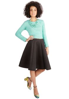 Composed Commute Skirt