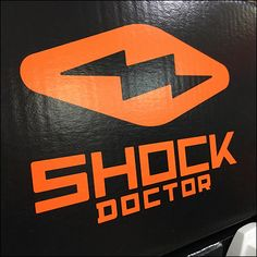 Shock-Doctor Unnamed Merchandise Display Champion Sportswear, S Shock, Mouth Guard, Merchandising Displays, Store Signs, Stand By Me, Stay With Me, Shop Signage, Friendship