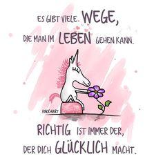 """Es gibt viele #Wege,die man im #Leben gehen kann. #Richtig ist immer der,der dich #Glücklich macht.  …habt alle noch'n schönes """"glückliches"""" Wochenende ☺️  #herzallerliebst #spruch #Sprüche #spruchdestages #motivation ️ #thinkpositive ⚛..."""