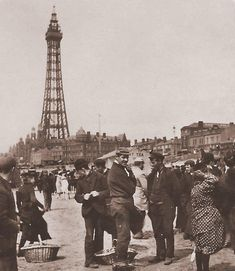 Early Blackpool Tower