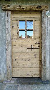 Porte in legno vecchio - porte artigianali in legno antico