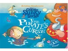 Sir Charlie Stinky Socks The Pirates Curse with Kristina Stephenson at Discover Children's Story Centre, 383 - 387 High Street, Stratford, London, E15 4QZ, United Kingdom on October 30 at 2:30 pm - 3:30 pm, Price: Child/Adult: £5, Family of Four: £18, Concessions/Newham Residents: £4.50, Under 2s: Free, Booking: http://atnd.it/15139-1, Join Kristina Stephenson, ​the brilliant Sir Charlie, his cat Envelope, Artists : Kristina Stephenson, Category: Kids / Family | Other.
