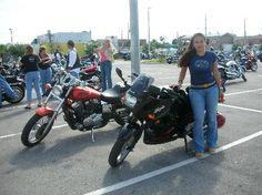 Biketoberfest  2007 :my daughter first bike week.Visit Officialbikeweek.com for Daytona Girls of Bike Week information.