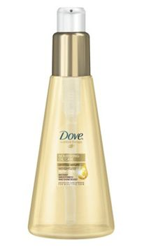 Dove Nourishing Dry Ends Serum and 11 other beauty products under 5 dollars.