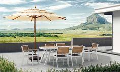 Zestaw obiadowy York Viara | Gardenello.pl - najlepsze meble ogrodowe!