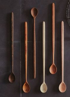 Roost Long Handle Tasting Spoons, Set of 6 by Bae Home and Design.