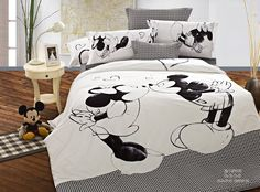 Black and White Mickey Mouse Bedding Hot Sale [Disney Bedding 11]  http://www.mickeymousebeddingset.com/black-and-white-mickey-mouse-bedding-hot-sale-p-340.html#.U5QhQJgo_4h