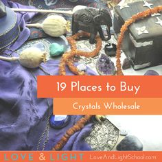 The 19 best places for buying crystals wholesale, as recommended by crystal master Ashley Leavy.
