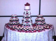 Wedding Cupcake Towers Cupcake Tower Wedding, Cupcake Towers, Wedding Cupcakes, Fill, Foods, Desserts, Food Food, Tailgate Desserts, Dessert