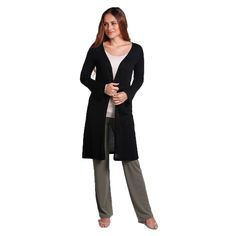 Bamboo Body Bamboo Cashmere Long Cardi - $139.95 #travelclothes